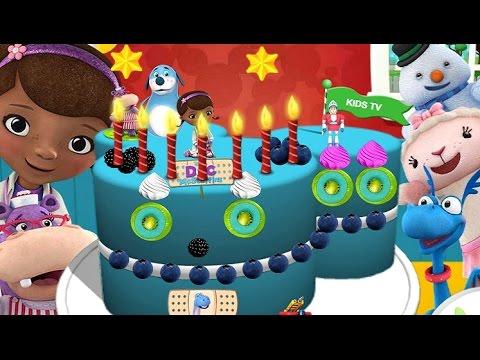 Disney Junior Birthday Party Doc McStuffins Birthday Cake For Kids