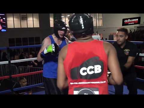 Challenge Charity Boxing - Joe Mannix v Jaydeep Chandrakant