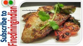 Easy Masala Fish Fry  #finediningindian