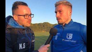 Interviews nach dem Spiel 1. FC Magdeburg gegen Shenzhen FC 2:0 (Uhr 0:0)