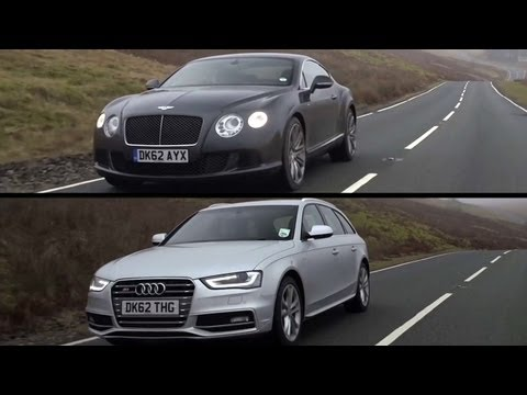 Bentley Continental GT Speed and Audi S4: Exploring VW Group DNA - /CHRIS HARRIS ON CARS