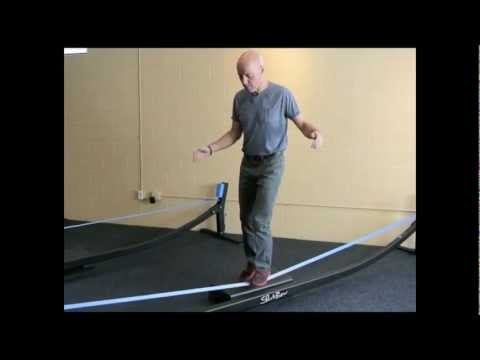 Balance Training with the SlackBow and Slacklining Exercises