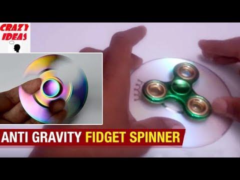 Anti Gravity FIDGET Spinner | DIY SPINNER | Amazing Life Hacks | Technology | Crazy Ideas