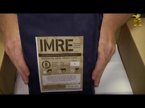 MRE Review - Czech Republic Food Ration - Menu 11