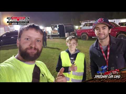 #43 Garrett Loyd - Sportsman - 4-27-19 Talladega Short Track - In Car Camera