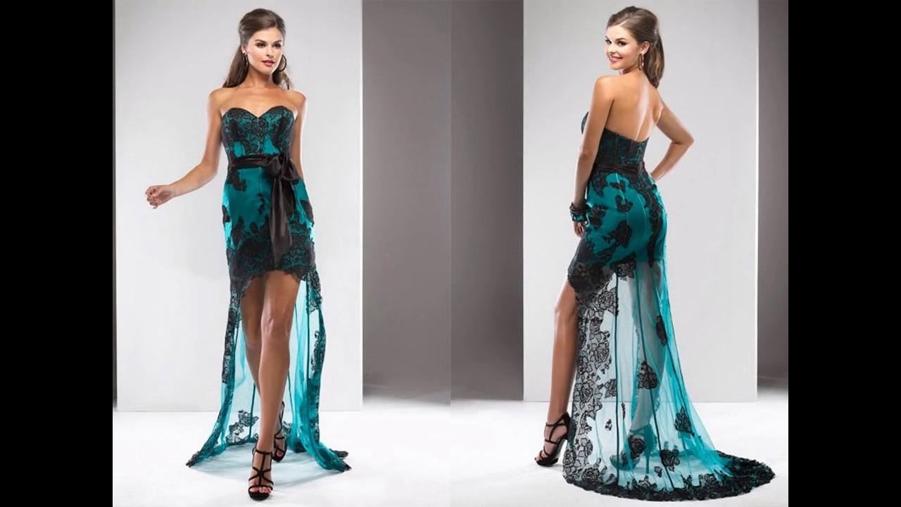 Los vestidos de noche mas lindos del mundo