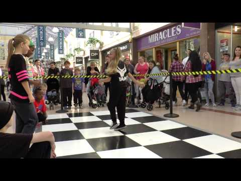 YAK Dance at the Forum Shopping Centre