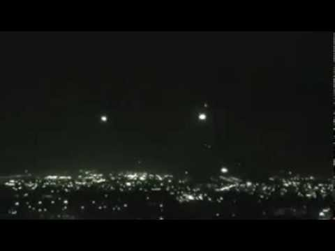 UFOs orbs and ships over Bogota Colombia June 2011 3 a.m.