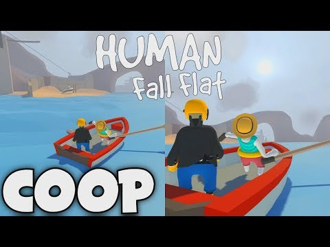 HUMAN FALL FLAT (FR) - 03 : COOP LOCAL (FT. KEVIN) | PC 60FPS