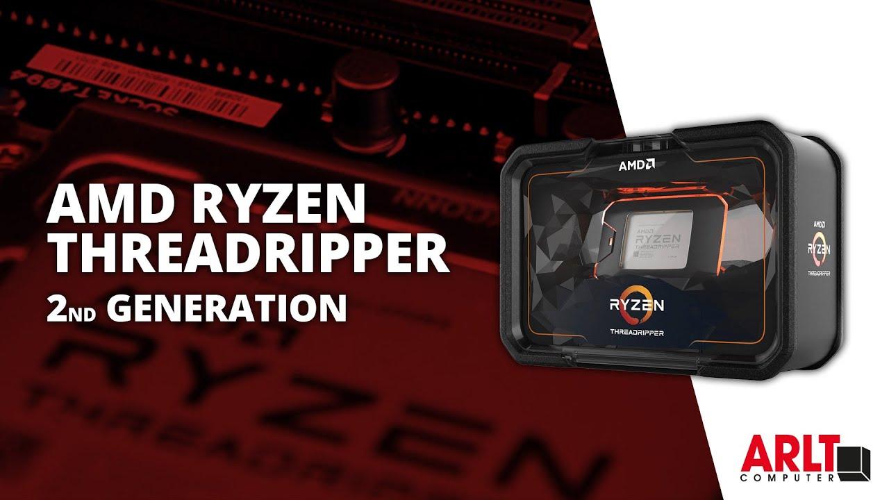 Vorgestellt: AMD Ryzen Threadripper 2nd Generation (Unboxing/Build 2990WX)  [German]