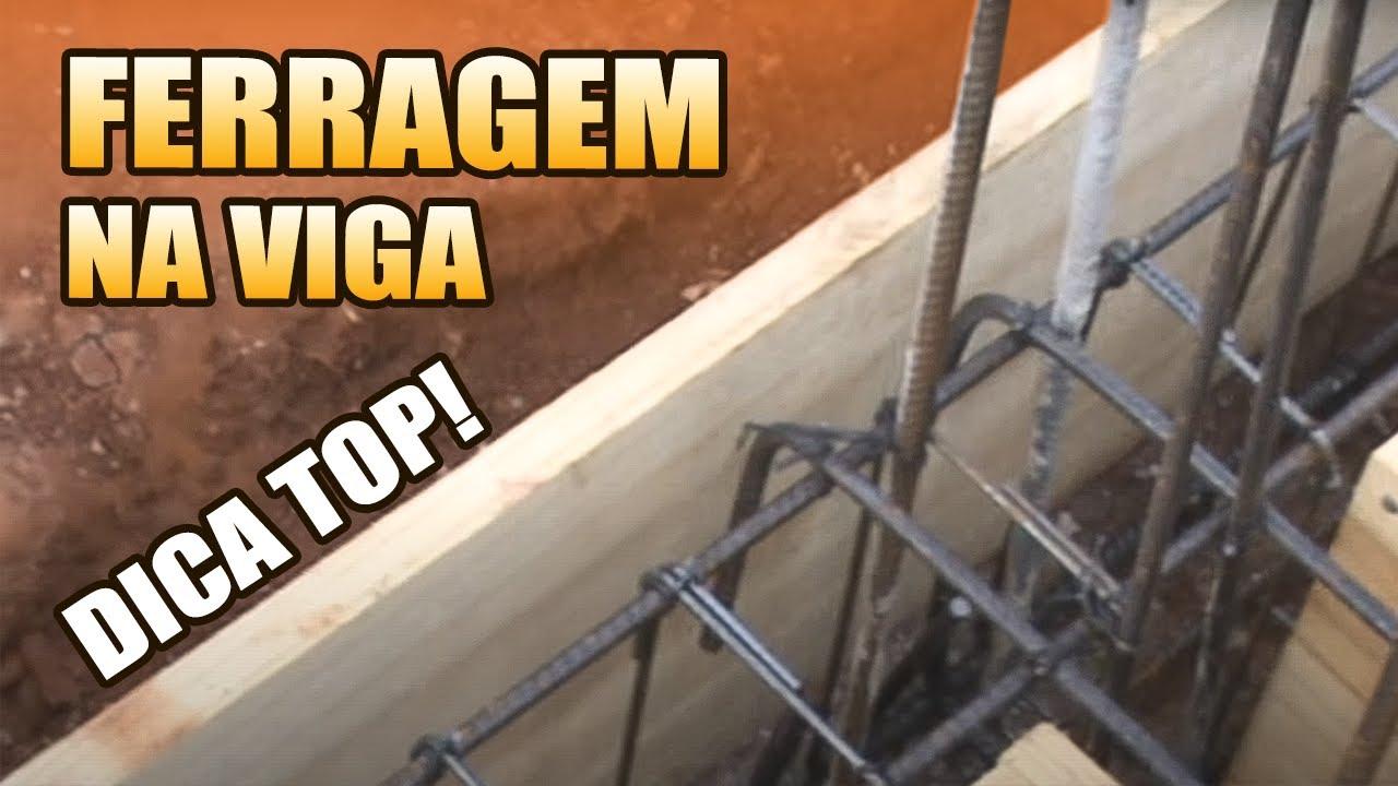 27a6007d3 DICAS TOP SOBRE FERRAGEM DENTRO DA FORMA DA VIGA BALDRAME SOBRADO PARTE 9 -  YouTube