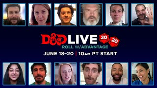 Official D&D Live 2020 Trailer #2 – Tune in June 18-20