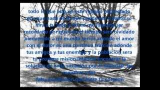 El Bienve (El Rapero palomon) - No hay amigos ni enemigo (Letra / Lyric)