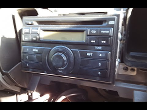 Nissan Xterra 2012 (2007-2014) Aftermarket Deck/Stereo Install - YouTube