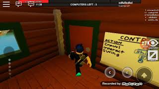Jugando flee the facility roblox #3