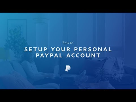 How to Set Up a Personal PayPal Account