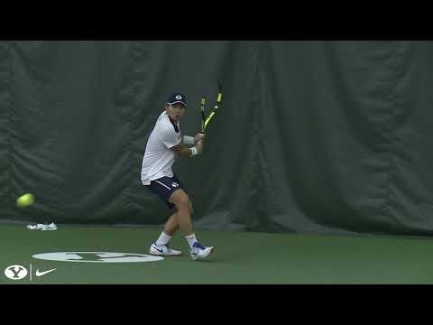Men's Tennis - BYU vs Weber State - January 11, 2019