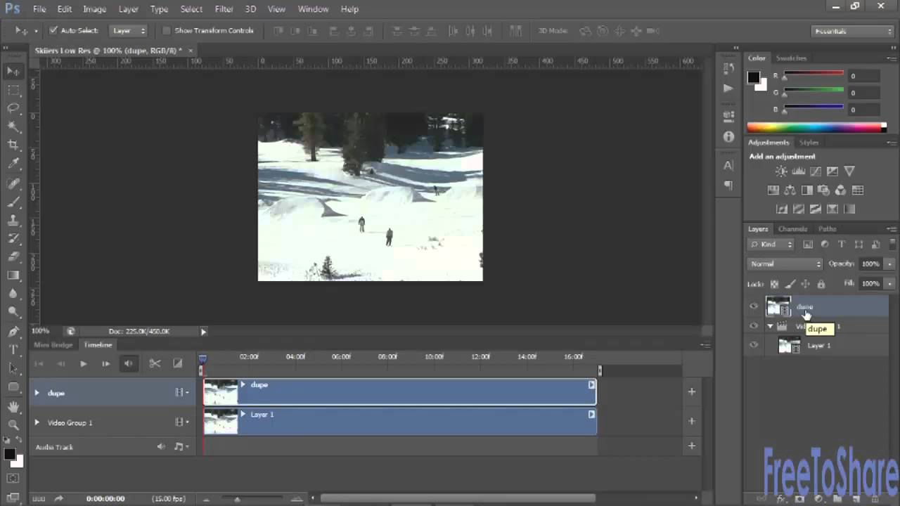Rotoscoping tutorial adobe photoshop cs6 youtube baditri Choice Image