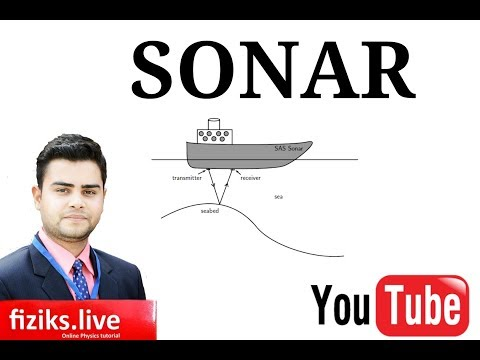SONAR | Class 9th Science Video Lecture..fiziks.live