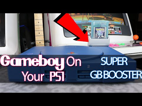 Super GB Booster (Innovation) -  Gameboy on your PS1!