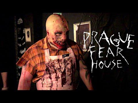 Skoro som vyplul dušu v strašidelnom dome // Prague Fear House