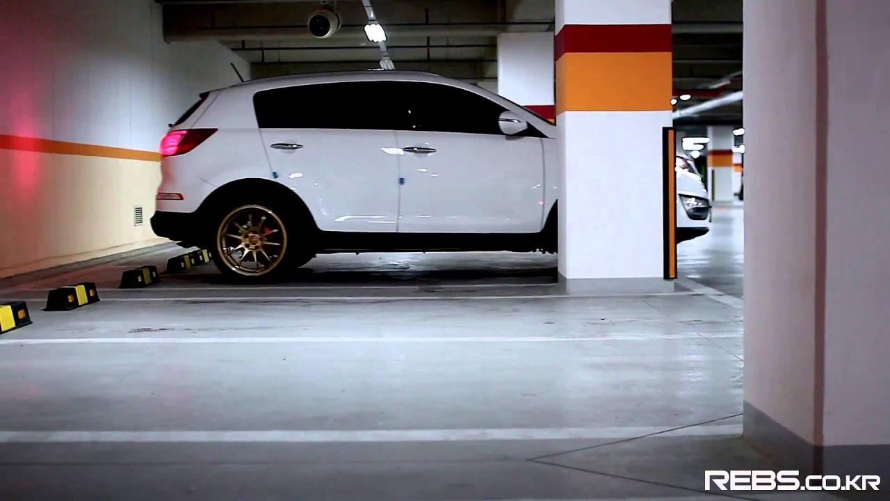 замена тормозных дисков на Kia Rio Часть 1 - YouTube