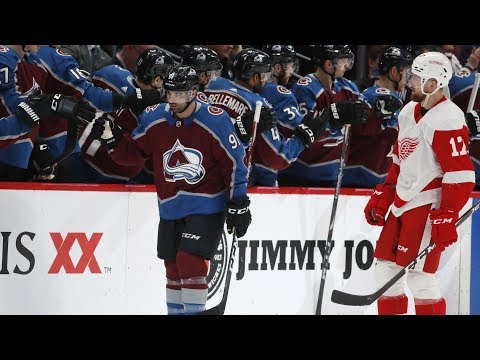 NHL Highlights | Red Wings Vs Avalanche – Jan. 20, 2020
