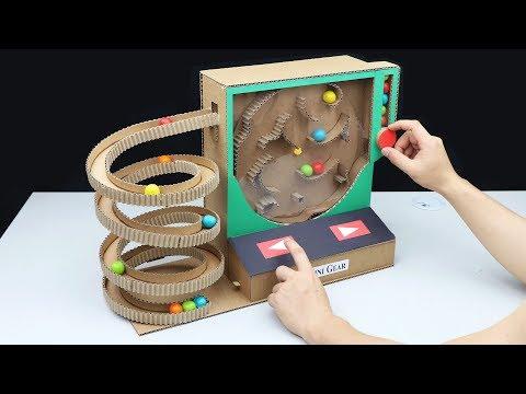 Wow! Amazing DIY Gumball Machine from Cardboard