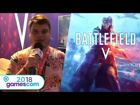 BATTLEFIELD V : un air de déjà-vu (Gamescom 2018)