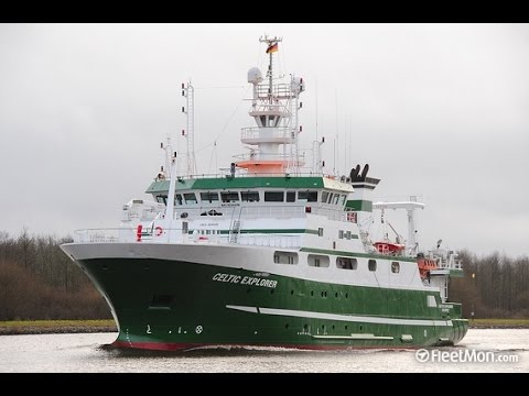 RV Celtic Explorer - Irish Research Ship in Dublin