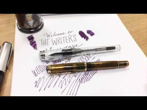 Writer's Showcase 4 - Pelikano Up, Stub Nibs, De Atramentis Alexander Hamilton, Laban