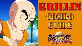 Dragon Ball FighterZ - Krillin combo guide