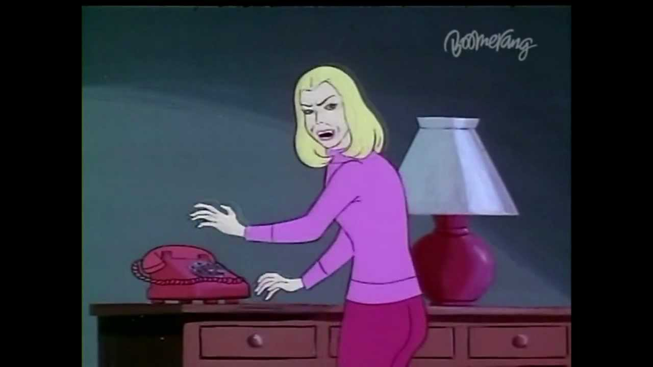 Scooby Doo - Scary Vampire Chick - YouTube 671f8d6a97