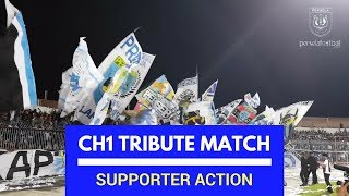 Persela Supporter Action - Choirul Huda Tribute Match  - Persela Lamongan vs Timnas All Star