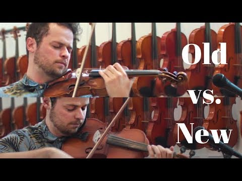 18th century violin vs. 2017 violin - Canon in D