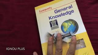 One of the best GK books : Lucent's General Knowledge | Book Review