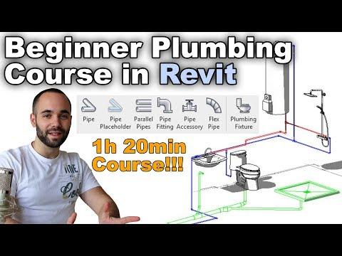 Beginner Plumbing in Revit Complete Course (Revit MEP)