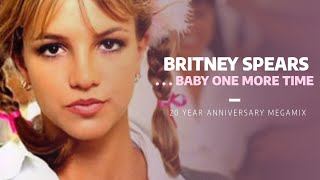Britney Spears Baby One More Time Album 20th Anniversary Megamix
