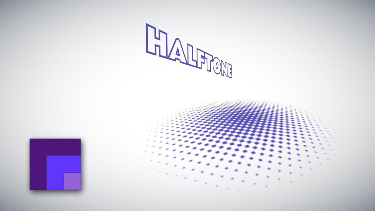 Gimp 2 10 Halftone Pattern Design Youtube