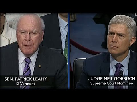 LIBERAL SENATOR TRIED TO TRICK NEIL GORSUCH, WHAT HE DID NEXT LEFT ENTIRE ROOM GASPING!