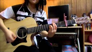 2NE1 - Come Back Home (Unplugged ver.)  guitar instrumental w/ tabs