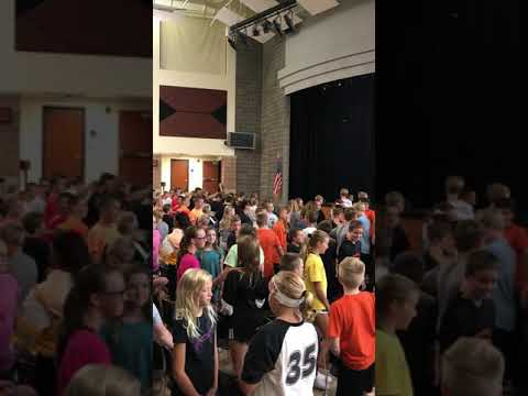 Encouraging Each Other- Coldwater Middle School