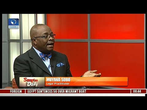 EFCC Boss: Senate Can Deny Magu On Any Ground It Sees Fit -- Muyiwa Sobo Pt 1