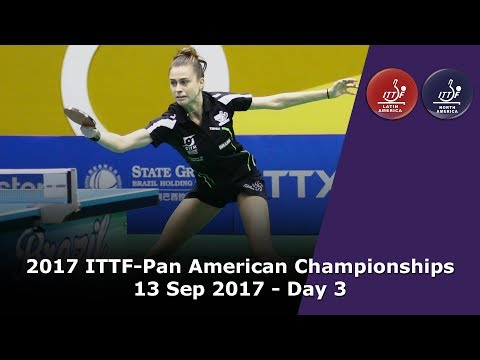 2017 ITTF-PanAm Championships - Day 3