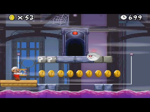 [Trailer #25] New Super Mario Bros. 3 [4-GHOSTHOUSE in Version 4.0]