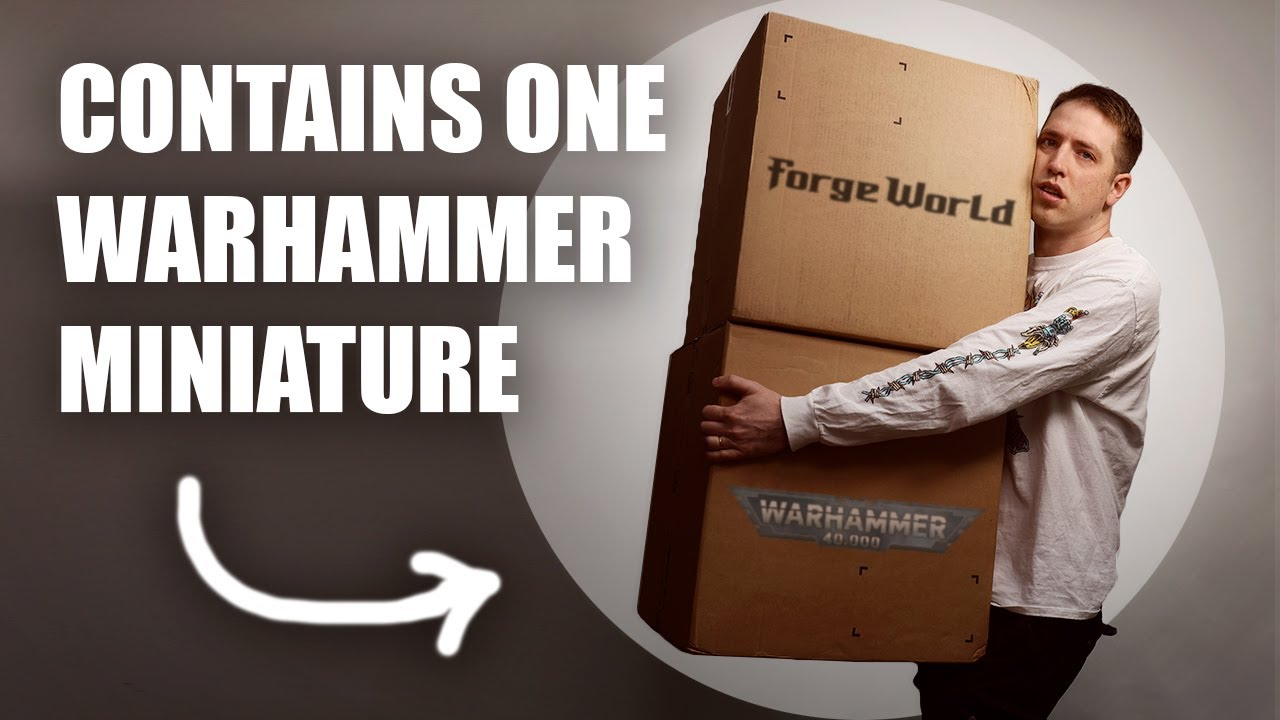 When you order a $1700 Warhammer and its warped.