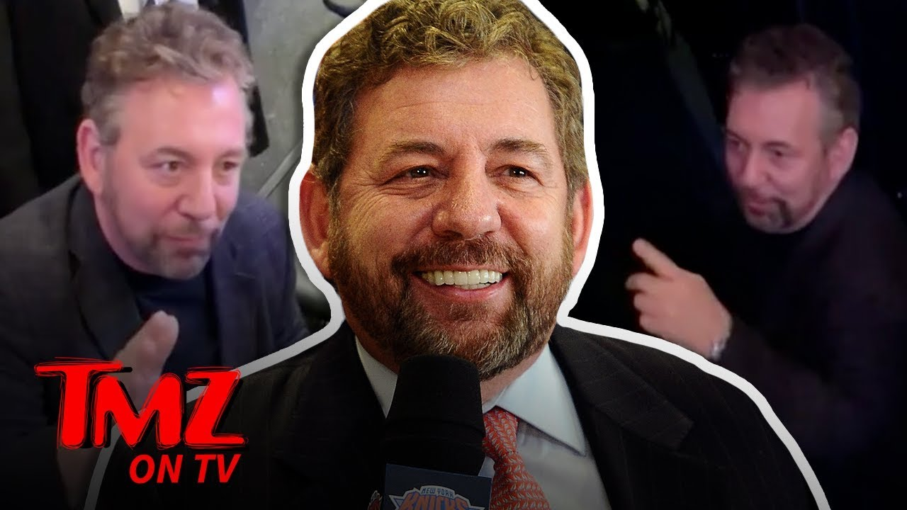 Download NY Knicks Owner Confront Fan Who Tells Him To Sell The Team | TMZ TV