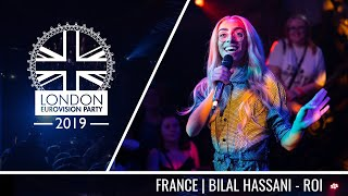 Bilal Hassani - Roi (France) | LIVE | OFFICIAL | 2019 London Eurovision Party