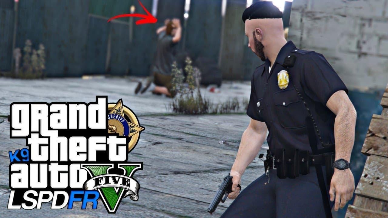 GTA V : MOD POLICIA : TIVE QUE SER RÁPIDO E ÁGIL PARA SALVAR O REFÉM! : EP.197