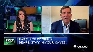 Barclays To Tesla Bears: 'stay In Your Caves'